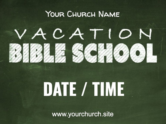 Vbs Yard Signs